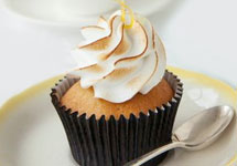 LEMON MERINGUE CUP CAKE