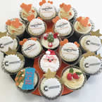 Logo and Customised Cup Cakes