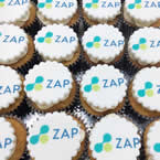 Corporate Logo Cup Cakes
